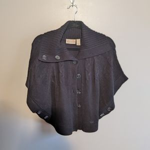 Black Poncho Style made by Red Camel Sz Small